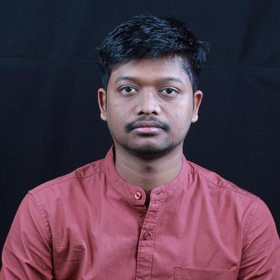 A corporate headshot of Akash Lakra
