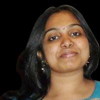 A corporate headshot of Mathangi Kumar
