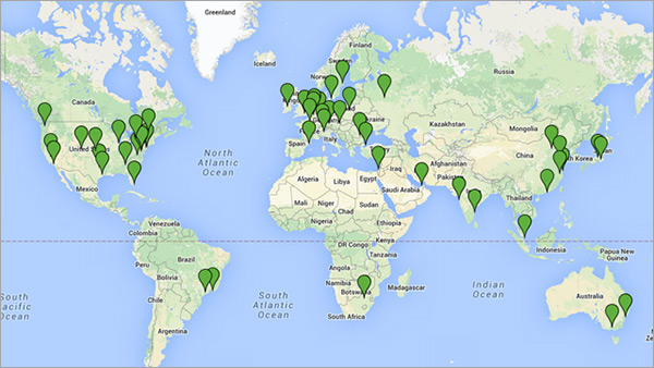 Site24x7's Global Website Monitoring Network