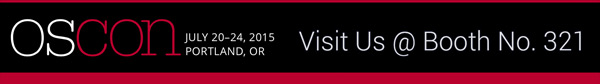 Meet us at OSCON 2015 in Portland, OR