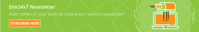 Subscribe your collegues to our monthly newsletters