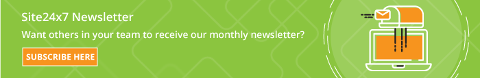 Subscribe your colleagues to our monthly newsletters